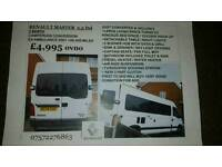 Renault master 2.5d 2 berth campervan conversion