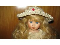 'CHERYL' COLLECTABLE PORCELAIN DOLL