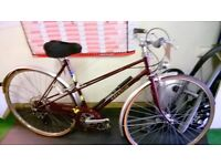 AS NEW CLASSIC RALEIGH ROAD BIKE NEW PARTS FULLY RESTORED
