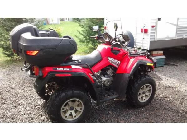 Used 2007 Can-Am Bombardier Outlander 500 XT