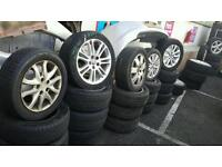Mercedes Alloys with Tyres 100's Alloys In Stock