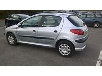 2004 PEUGEOT 206 WITH 1.1 ENGINE DRIVES WELL