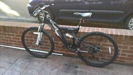 MENS MUDDYFOX STORM FULL SUSPENSION MTB