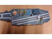 Military aircraft ship