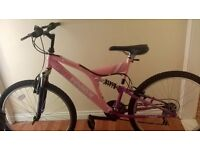 girls/ladies bike like new