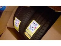 2brand new tyres 225/45 R17 XL
