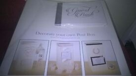 Wedding Post Box and wedding Guest Book