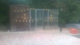 PAIR OF GATES FOR SALE