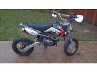 demon 125 pitbike