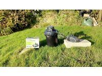 Jebao pond pump and filter