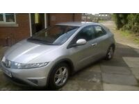 HONDA CIVIC 1.4 SE I-DSI, 6 SPEED GEARBOX, MOT - MAY 2015, SUPERB FUEL ECONOMY & CHEAP INSURANCE