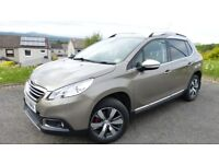 Peugeot 2008 SUV 2014 1.6 e-HDi Allure (s/s) 5dr