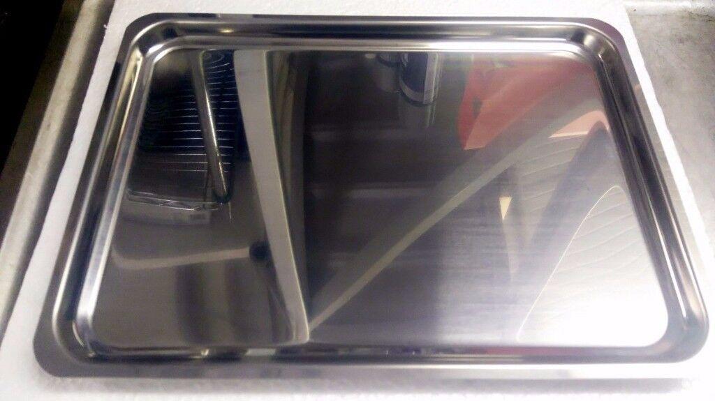 Shish Kebab Skewer Stainless Steel Display Holder Tray