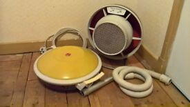 Vintage 1960s Hoover Vaccum and Morphy Richards Fan/Heater