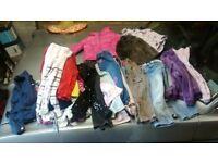 large girls 3-4 clothes bargain bundle