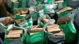 Logs twenty bags mixed wood