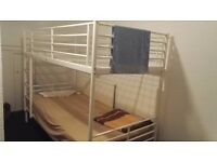 twin bed room - share kitchen and share bathroom - long or short term