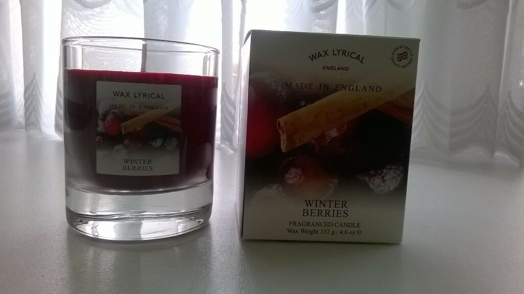 Wax Lyrical Winter Berries Candle – NEW
