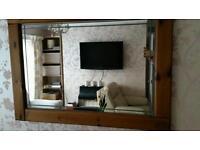 Handmade Antique Pine mirror 110 cm x 78 cm