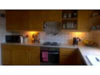 KITCHEN UNITS WITH SOLID BEECH DOORS
