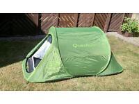 Quashua 2 man pop up tent