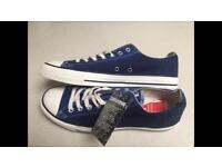 Brand new two tone limited edition converse shoe size 10