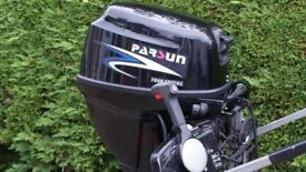 Parsun 15HP 4 Stroke Long Shaft + Remotes Electric & Pull Start
