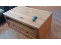 Solid oak furniture, Sideboard, TV Unit and Coffee table for collection