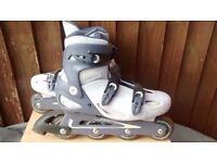 Inline skates Decathlon size 6