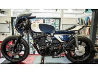 Yamaha XS 750 cafe racer Pro built