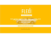 PCO Drivers wanted / £550 CASH IN HAND