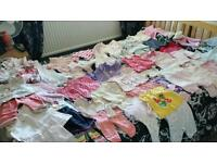 Bundle of baby girls clothes 0-3