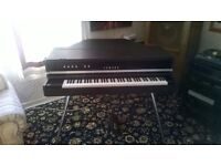 Yamaha CP-70 electro-acoustic piano inc heavy duty flight cases.(Formerly owned by 'Hot Chocolate')