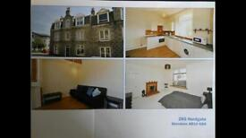 Bright Spacious ONE Bedroom Flat. West End Easy commute to RGU & Aberdeen Uni. Furnished. GCH