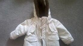 Baby Coat 6-9 Months