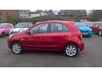 2012 NISSAN MICRA ACENTA RED