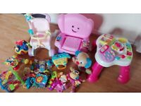 Large bundle toys