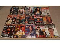 15 Magazines. SCI-FI/DRAMA/FILM. Star Wars/Trek/X-Files/Review/TV Zone/Starburst...etc