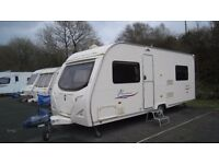 2008 Avondale Passione 525-4 Fixed Bed Caravan (Including Full Size Awning)