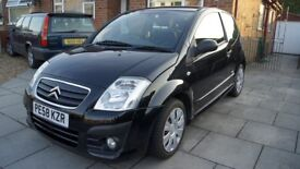 CITROEN C2 1.4 HDI VTR 2008 1.4HDI , 12 months MOT, road tax only £30 per year, low insurance group