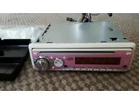 JVC CAR RADIO WITH CD AND MP3.