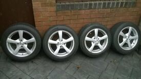 15 inch dezent alloy wheels