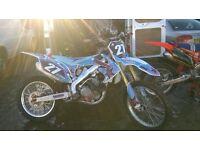 HONDA CRF250R EFI 2010 MOTOCROSS(£1294 JUST SPENT ON FULL ENGINE REBUILD) SWAP ktm 250 fourstroke