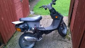 50 CC SCOOTER FOR REPAIR / REBUILD / GOOD PROJECT :)