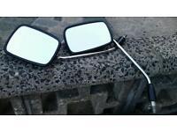 Honda C90 Rear View Mirrors (Pair)