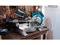 "Makita LS1018L 260mm/10"" Sliding Compound Mitre Saw"