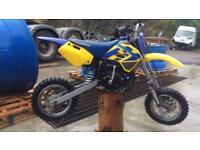 Husky boy 50cc motocross bike 04 sx cr yz lt