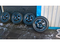 MERCEDES BENZ ML ALLOYS WITH GOOD TRYES ALSO HAVE AMG WHEELS