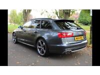 2014 AUDI A6 AVANT 2.0 TDI S LINE BLACK EDITION 8 SPEED AUTO ESTATE DOLPHIN GREY TOP SPEC MAY PX