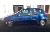 Fiat Punto 2001 1.2 .....93,000 miles £250 ....no mot